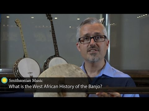 What is the West African History of the Banjo?