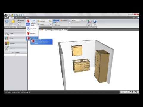 Cabinet Vision TechByte Video - Layout View Right Click Options