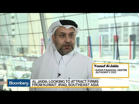 Bloomberg Interview with Yousuf Al Jaida, CEO of Qatar Financial Center, at IPEC