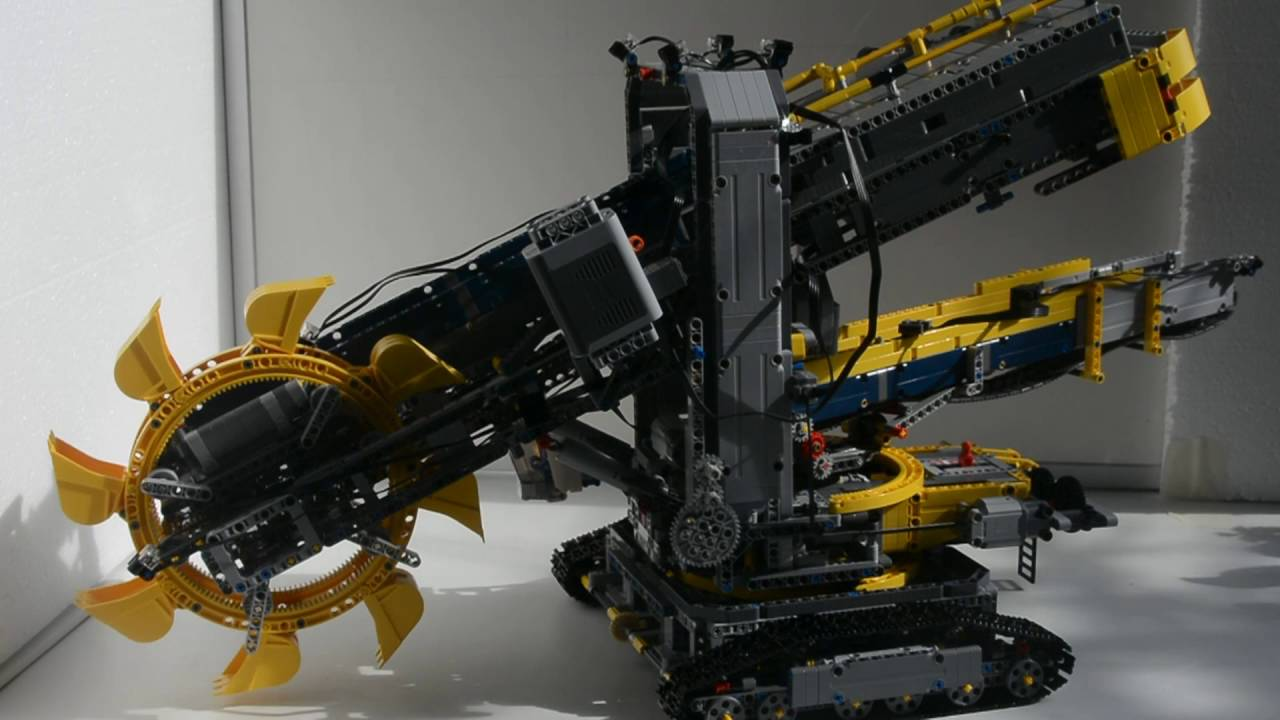 lego technic 42055 ferngesteuert schaufelradbagger mit. Black Bedroom Furniture Sets. Home Design Ideas