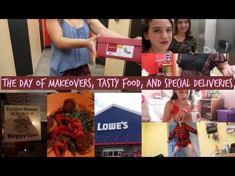 THE DAY OF MAKEOVERS, TASTY FOOD, AND SPECIAL DELIVERIES   Zoe Rebekah