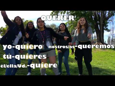 Spanish Song For 'Querer' In The Present Tense