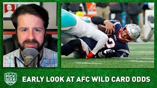 NFL AFC Wild Card Picks, Early Look at Lines, Betting Advice I Pick Six NFL Podcast