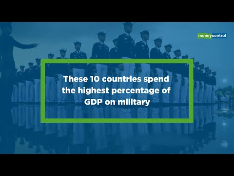 These 10 Countries Spend The Highest Percentage Of GDP On Military