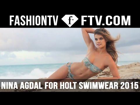 Nina Agdal For HOLT Swimwear 2015