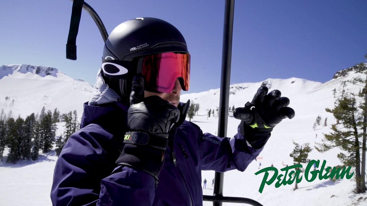 643e054295 2018 Oakley Fall Line XL Prizm React Goggle Review by Peter Glenn ...
