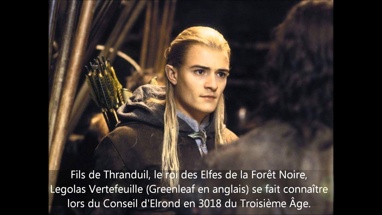 Les elfes dans le seigneur des anneaux n 1 legolas youtube - Tatouage seigneur des anneaux ...