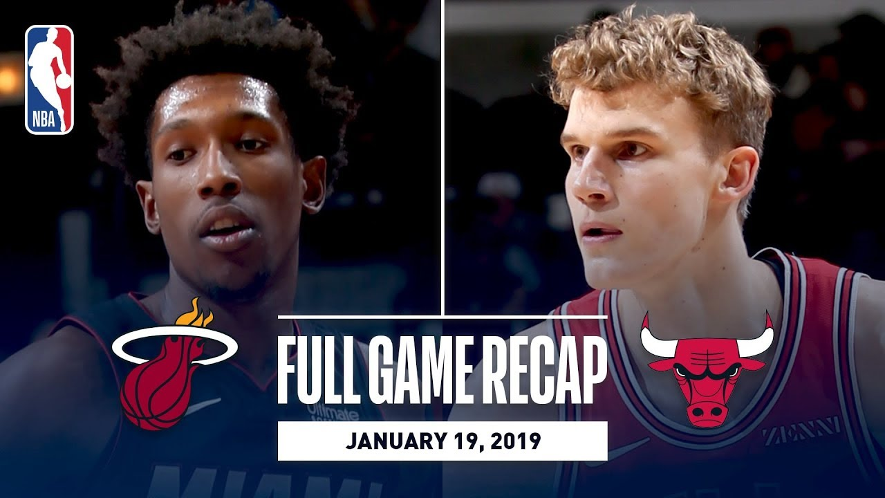 Full Game Recap: Heat vs Bulls | Richardson Leads MIA Over CHI