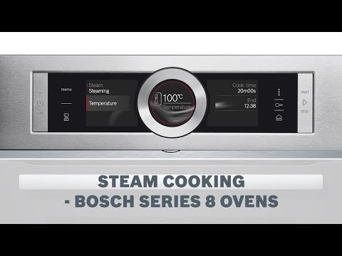 Steam Cooking Function - Bosch Series 8 Ovens