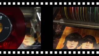 """Jonnie's Jukebox Plays: Another Girl - The Beatles 1965  Red Vinyl 7"""" Record Greatest Hits"""