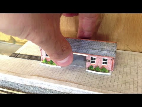 N Gauge Model Railway Layout Update: Bodenham Woods 6