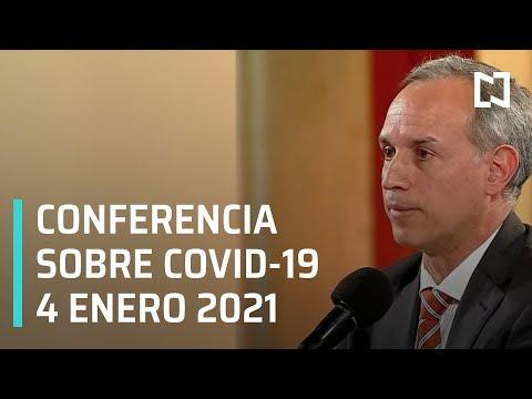 Conferencia Covid-19 México - 4 enero 2021
