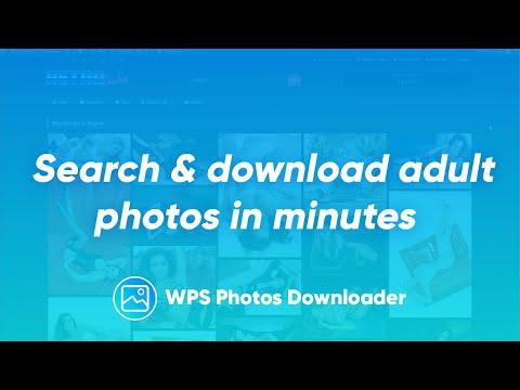 Adult Mass Photos Downloader WordPress Plugin