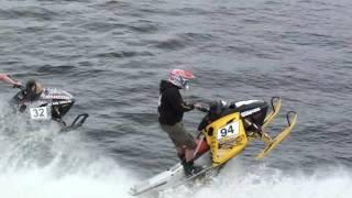 After Ski Team Watercross Skellefteå 2016 Snöskoter på vatten