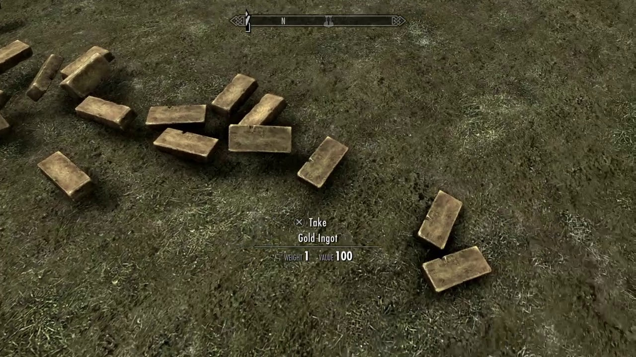 Gold Ingot Skyrim 1 Youtube Theres a mod that you can make gold it take 2 iron and i gold ingot makes 5000 gold. youtube