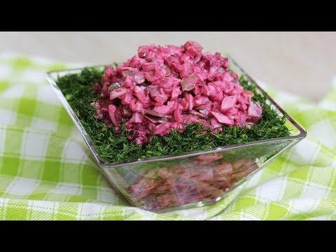 НОВЫЙ салат из СВЕКЛЫ за 5 минут ! Простой рецепт из ресторана на НОВОГОДНИЙ СТОЛ