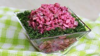 НОВЫЙ салат из СВЕКЛЫ за 5 минут Простой рецепт из ресторана на НОВОГОДНИЙ СТОЛ