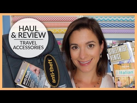 Haul & Review | Travel Accessories | 2015