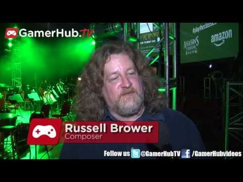 World Of Warcraft Composer Russell Brower Talks Video Games Live - Gamerhub.tv