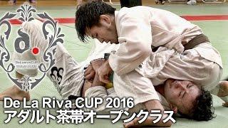 【ヒカルド・デラヒーバ杯2016】アダルト茶帯オープンクラス