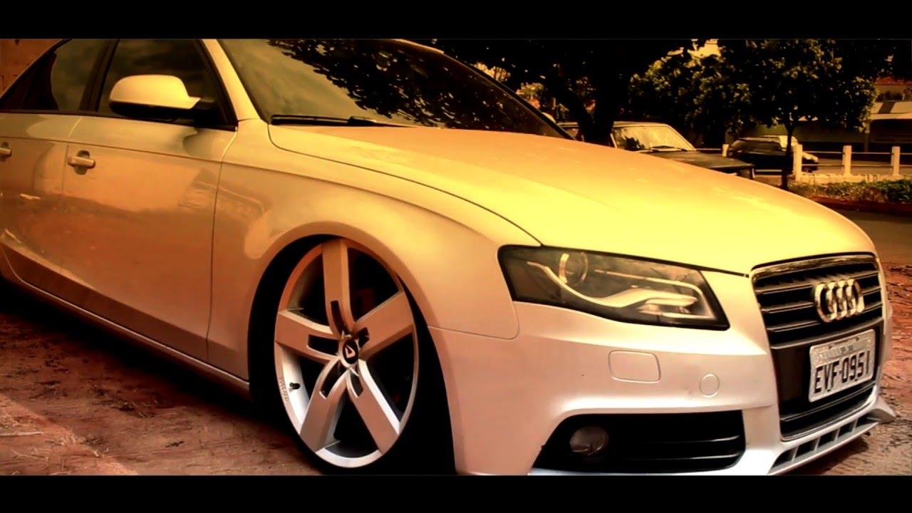 Audi A4 Na Fixa Engolindo As Bordas Da Strong Aro 20
