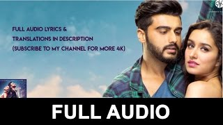 Main Phir Bhi Tumko Chahunga Full Video || Half Girlfriend Full Video
