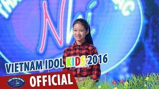 vietnam idol kids - than tuong am nhac nhi 2016 - ganh hang rau - thanh thao
