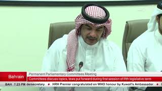 Permanent parliamentary committees press conference