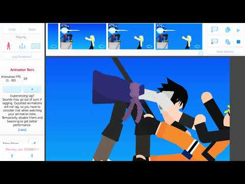 Stick Nodes Naruto Vs Sasuke City Nodes