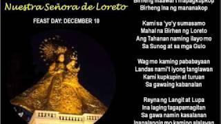 MAHAL NA BIRHEN NG LORETO WITH LYRICS