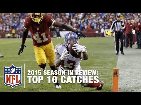Top 10 Catches (2015 Regular Season) | NFL