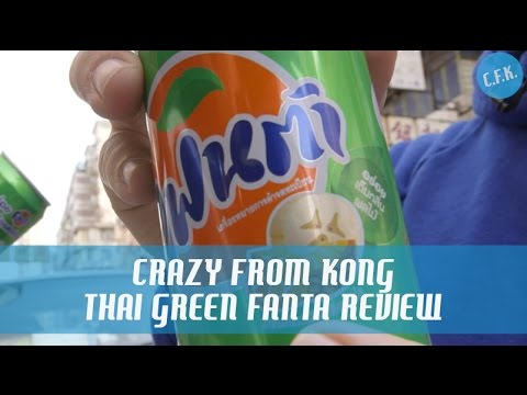 Thailand Green Fanta (แฟนต้า - Melon Frosty) - Crazy From Kong Review !!