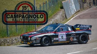 15° Rally storico Campagnolo 2019 - Show [HD]