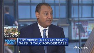 Johnson & Johnson ordered to pay $4.7 billion in talc power case
