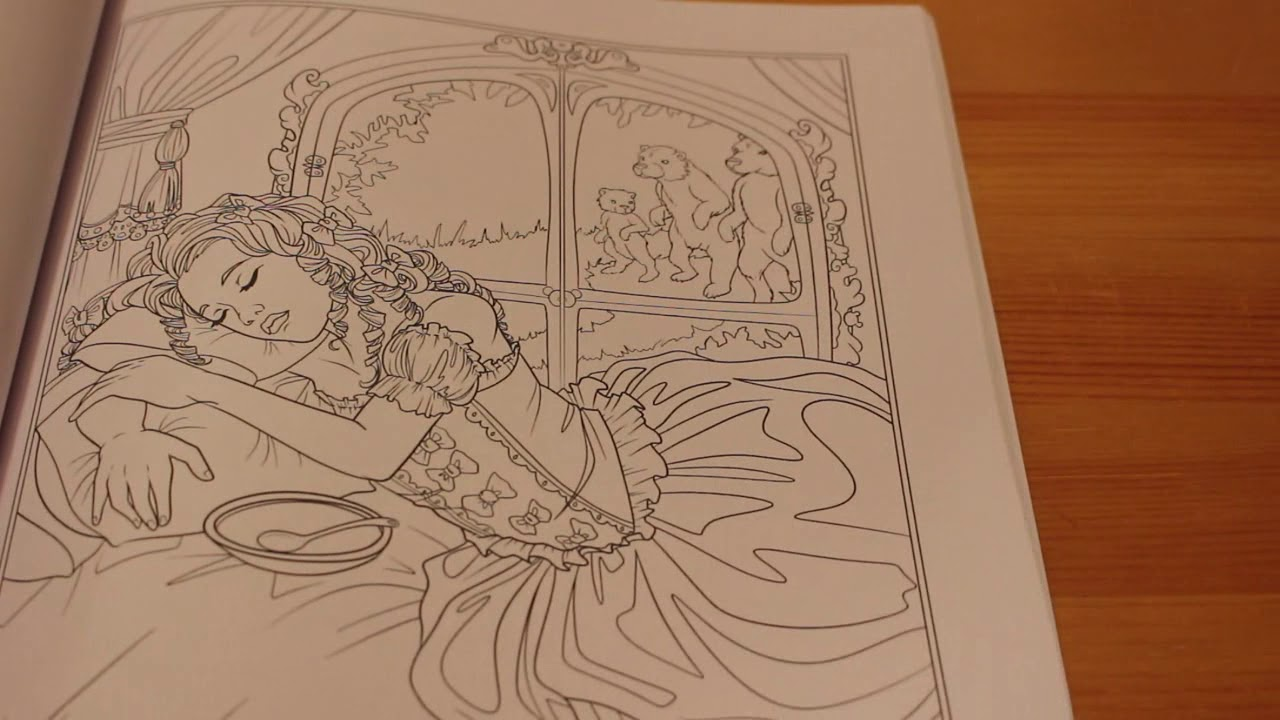 - Fairy Tales, Princesses, And Fables Coloring Book By Selina Fenech