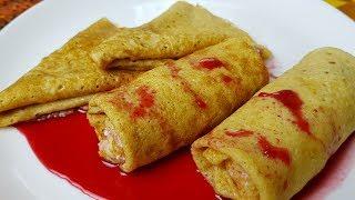 Овсяные блинчики, цыганка готовит.🥞Блины без муки. Gipsy cuisine.👍