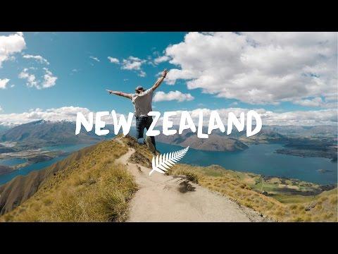 Backpacking Around New Zealand - Познавательные и прикольные видеоролики