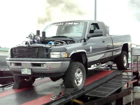 Cummins Turbo Diesel >> Quad turbo cummins - YouTube