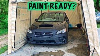REBUILT 2017 Subaru WRX Ready For Paint?!