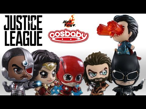Hot Toys Justice League Cosbaby Figures