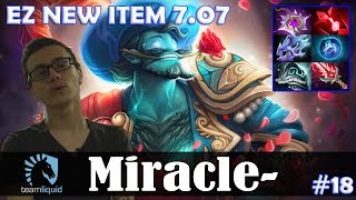 Miracle - Storm Spirit MID | EZ NEW ITEM 7.07 | Dota 2 Pro MMR Gameplay #18