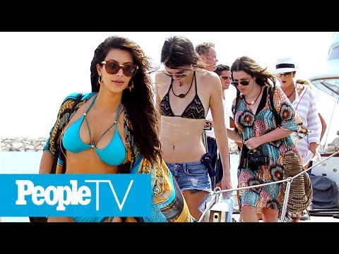 How To Vacation In Style Like The Kardashians: From Private Jets To Exotic Villas | PeopleTV