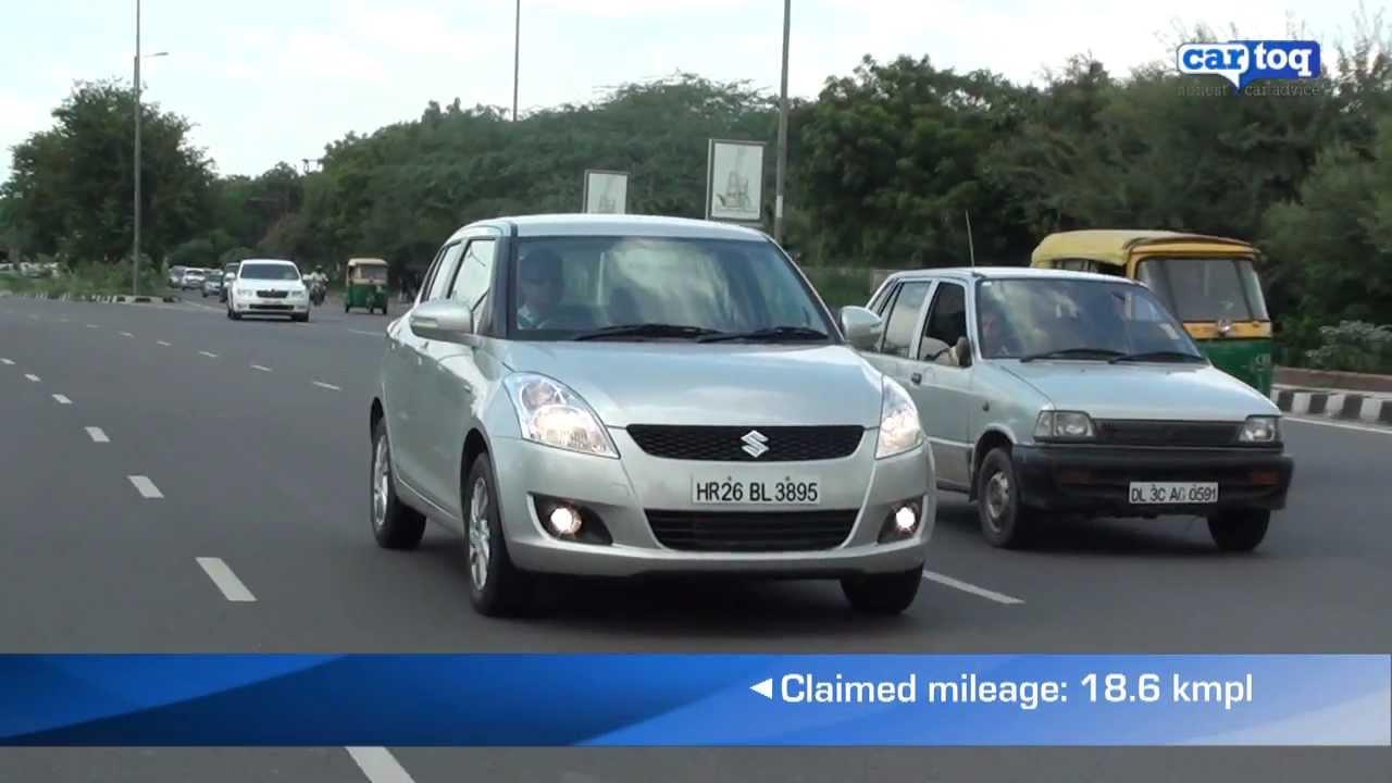 2011 Maruti Suzuki Swift ZXi Video Review and Road Test by CarToq com