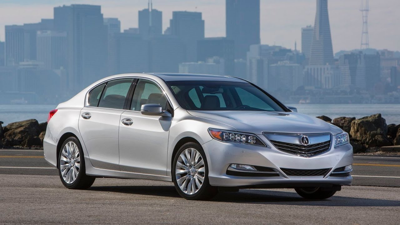 Ful 2017 Acura Rlx Sport Hybrid Luxury Sedan