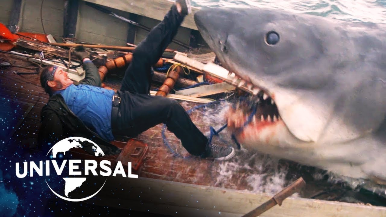 Jaws | Scariest Shark Attacks - YouTube