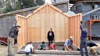 We Built A Tiny House In One Day