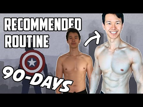 Reddit Bodyweight Fitness Recommended Routine (Updated