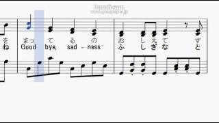 空耳ケーキ ピアノ楽譜
