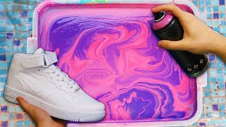 HYDRO Dipping AIR FORCE 1's! - 2