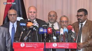 التوقيع على وثيقة إعلان مبادئ لحل الأزمة الليبية